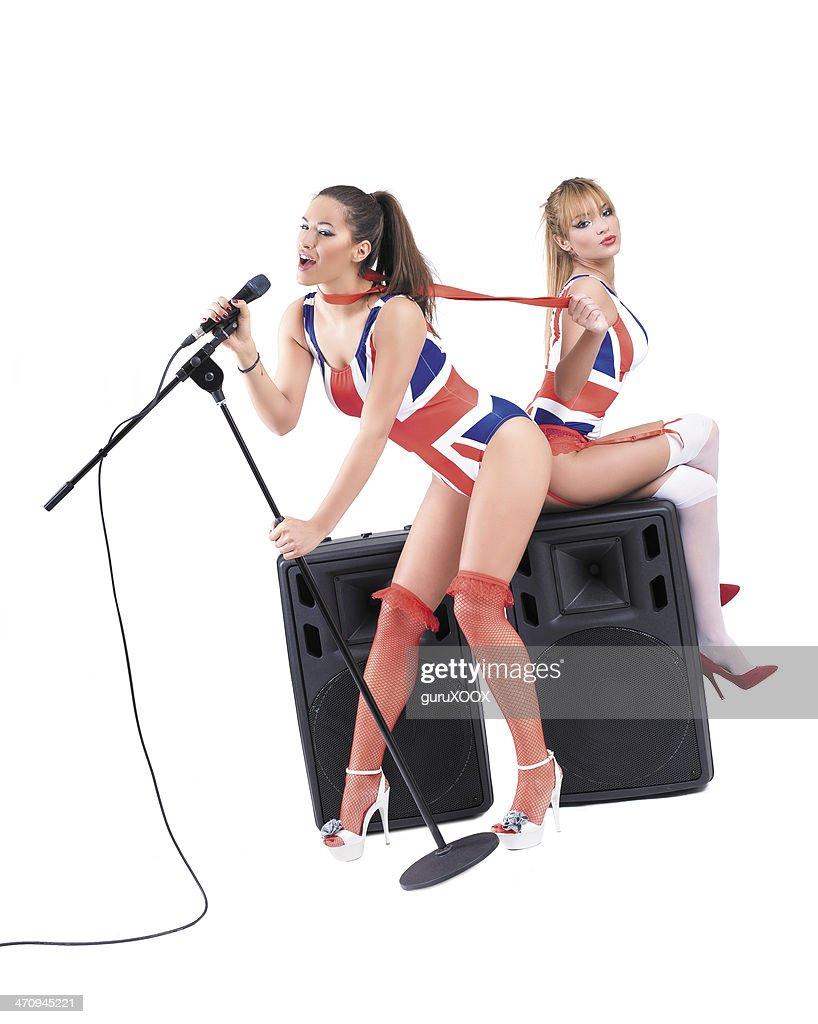 Sexy singing girl — img 12
