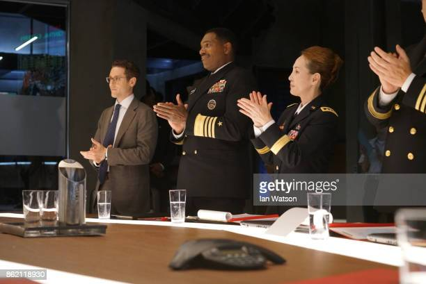 """Two Ships"""" - When a U.S. Navy ship containing secret surveillance becomes stranded in enemy waters, President Kirkman must negotiate the crew and..."""