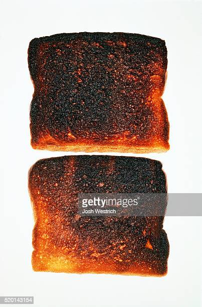 Two Slices of Burnt Toast