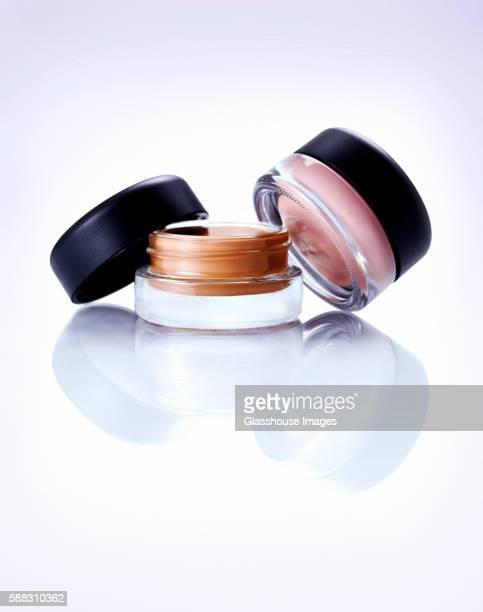 Two Small Cosmetics Jars