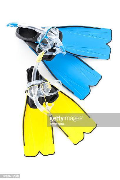 two snorkel sets