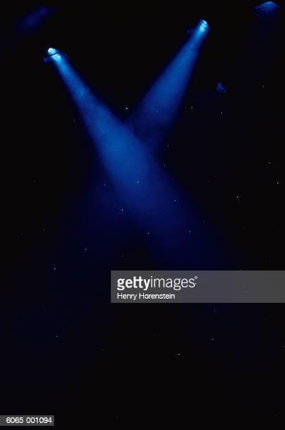 two spotlights - スポットライトをあてる ストックフォトと画像