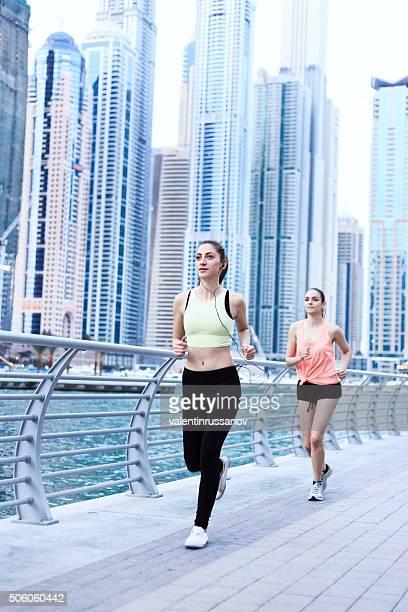 Two Sprinters in Dubai
