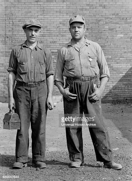 Two Steel Workers Midland Pennsylvania USA Arthur Rothstein for Farm Security Administration July 1938