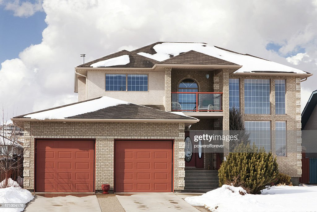 Two Story Single Family Home : Stock Photo