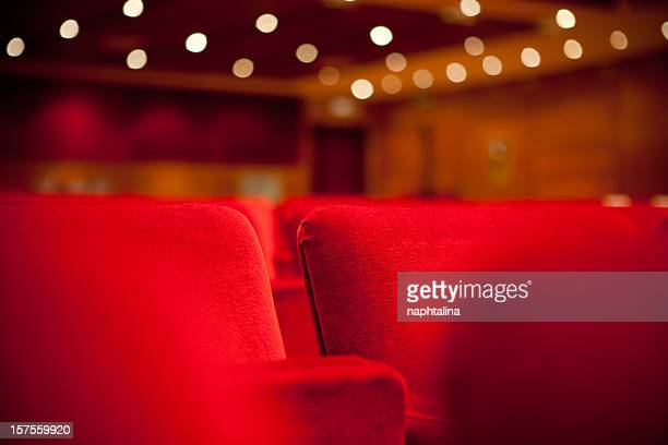 two theater seats - opera stage stock pictures, royalty-free photos & images