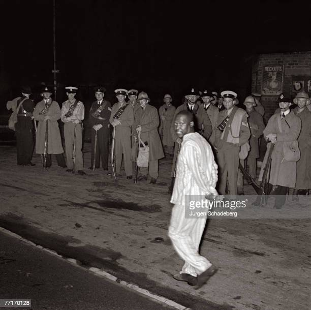 Two thousand armed police oversee the eviction of the black inhabitants of Sophiatown a suburb of Johannesburg 1955 In 1955 the Group Areas Act...