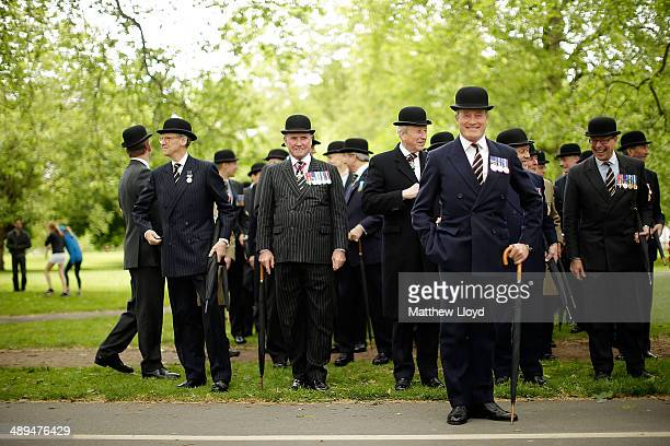 Two thousand serving and former members of the Cavalry and Yeomanry gather in Hyde Park prior to a parade to commemorate the fallen from the First...
