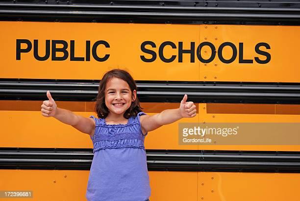 Dois polegares para cima para público nas escolas!
