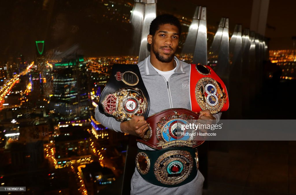 Anthony Joshua Media Access : News Photo