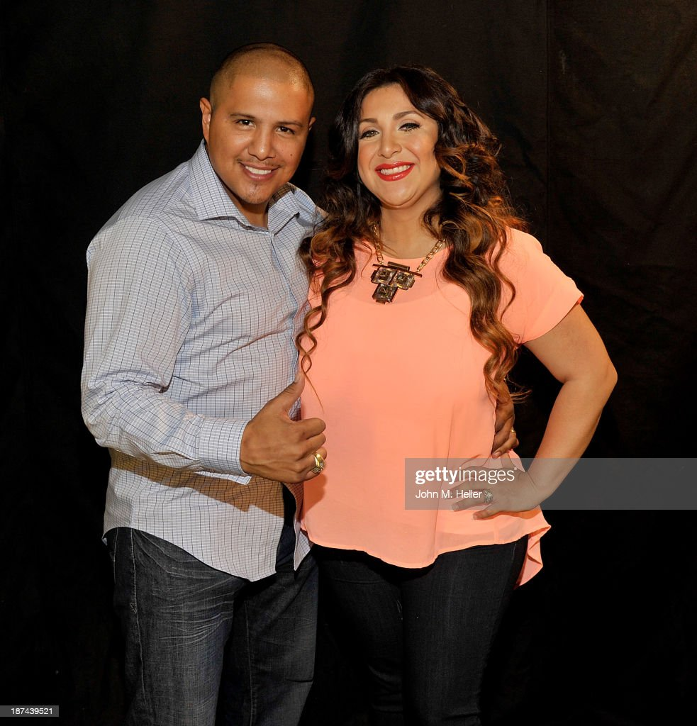 Fernando Vargas And Martha Lopez Vargas Portrait Session