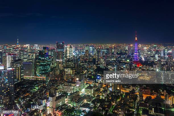 Two towers in Tokyo