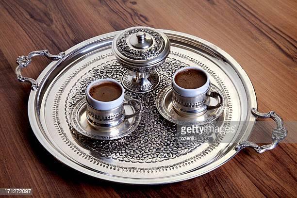 Two Turkish coffee