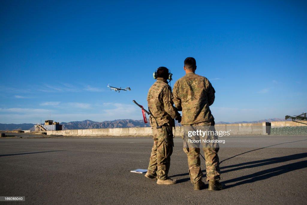 Unarmed Drones in Afghanistan : News Photo
