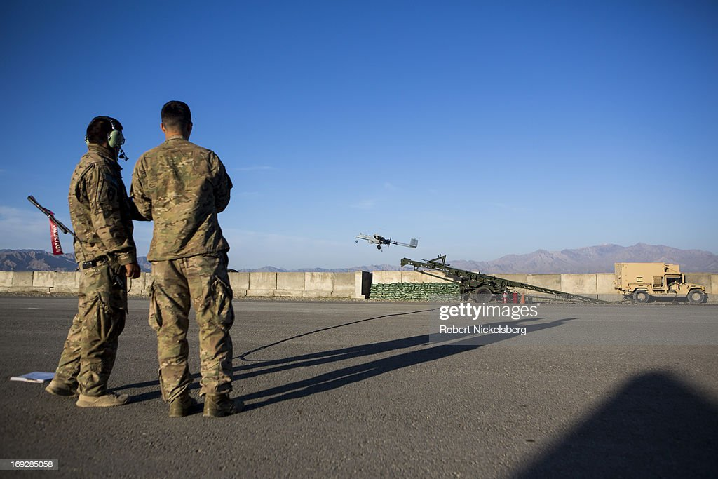 Unarmed Drones in Afghanistan : News Photo