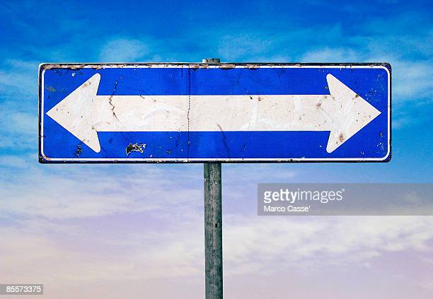 two way - double arrow stock pictures, royalty-free photos & images
