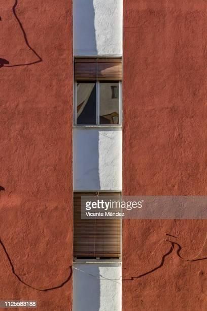 two windows - vicente méndez fotografías e imágenes de stock