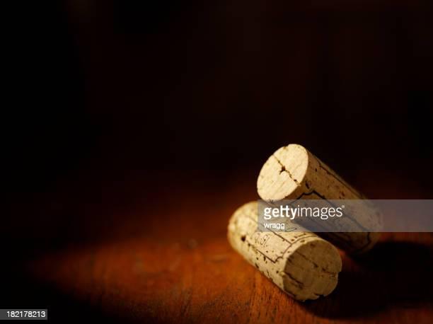 Two Wine Bottle Corks