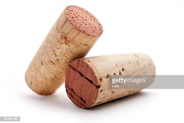 Two wine cork (serie of images)