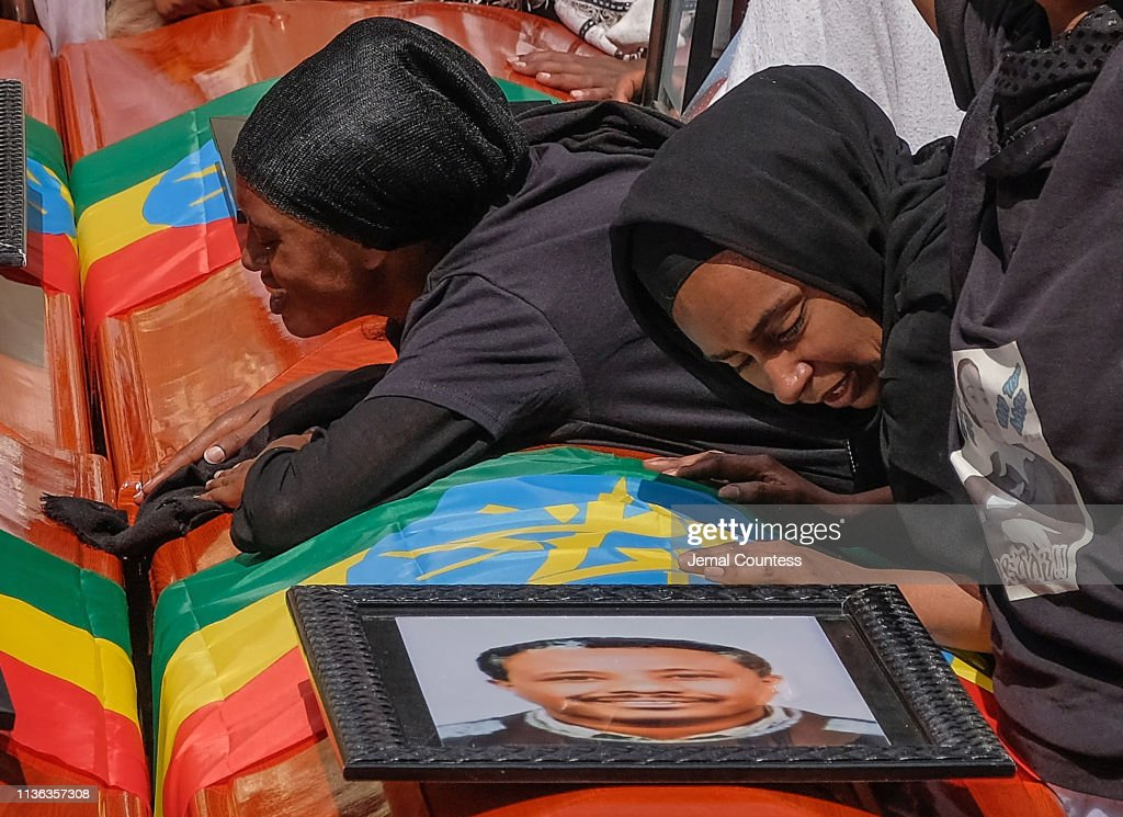 Memorial Service For Victims Of The Ethiopian Airlines Crash : News Photo