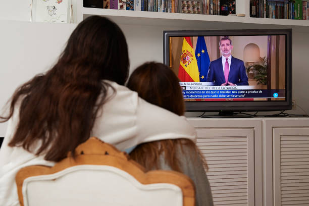 ESP: King Felipe Of Spain Speaks To The Nation Due To Covid-19 Crisis
