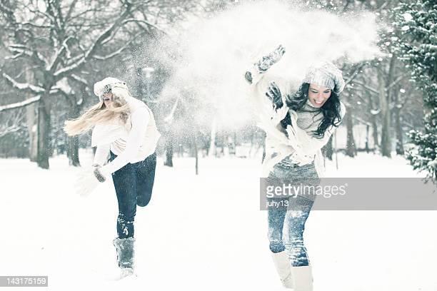 Winter im Freien