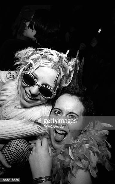 Two women in a club Croatia 1990s