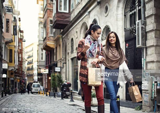 Two women in Istanbul