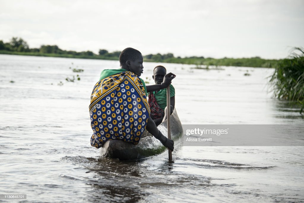 Refugees of South Sudan : News Photo