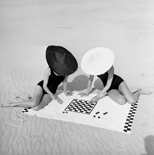 Checkers On The Beach