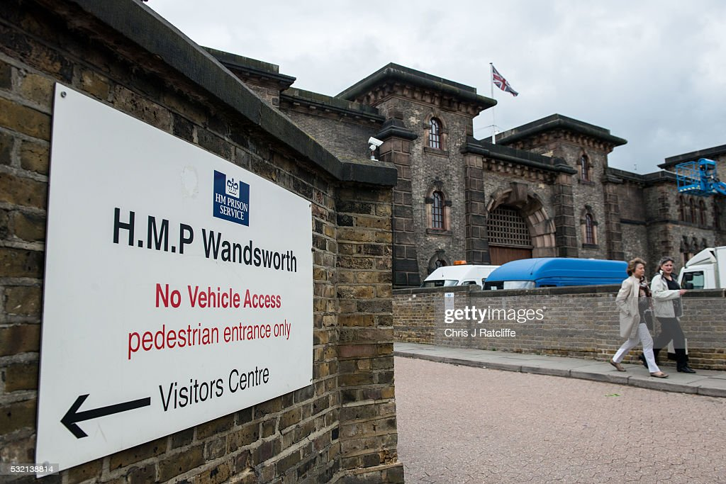 Views Of HMP Wandsworth Prison : News Photo