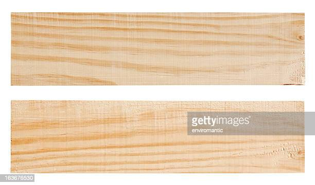 Two wood planks.