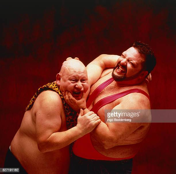 two wrestler in a fight - wrestling stock pictures, royalty-free photos & images