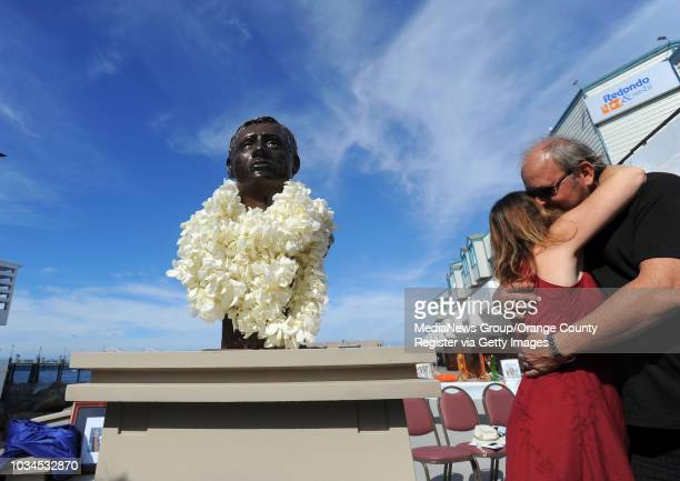 Scott Varley Two years after it was stolen a new bronze bust of surfing pioneer George Freeth was unveiled Sunday at the Redondo Beach Pier Freeth is...