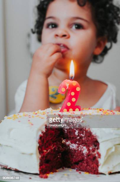 people: two years old birthday girl - 2 3 years stock pictures, royalty-free photos & images