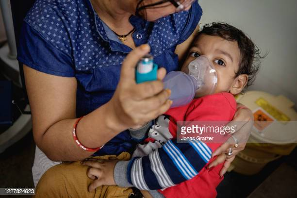 Two years old Divyansh is suffering from breathing problems which is a syndrome that recurs for him every year during the period when Kolkata has its...