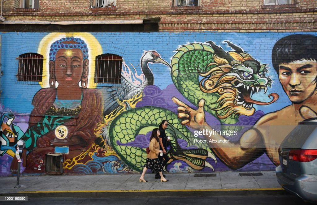 Chinatown in San Francisco, California : News Photo