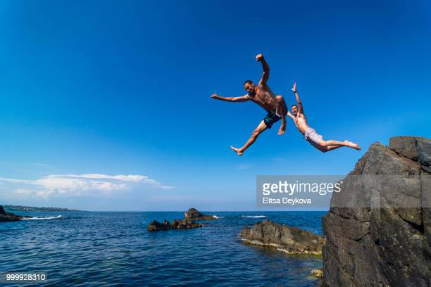 60 Top Jumping Off Cliff Pictures, Photos, & Images - Getty