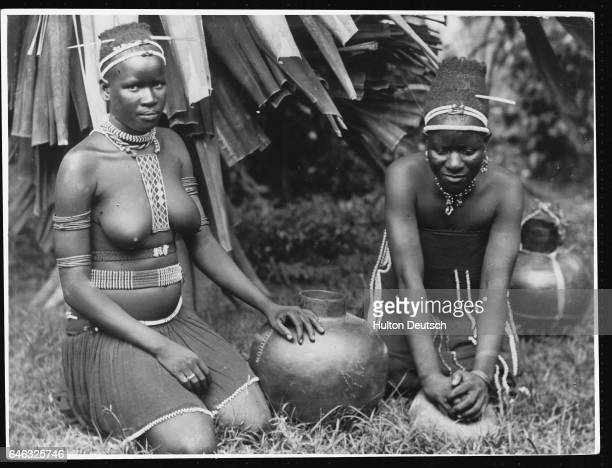 Two young tribeswomen