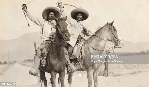 Two Zapatista Generals Mexico 1915