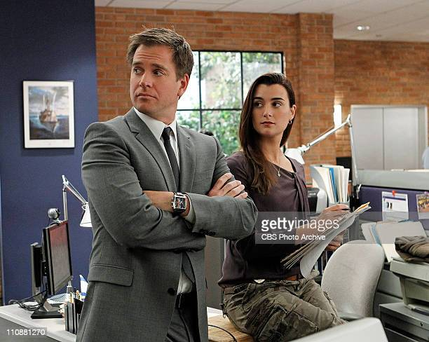 TwoFaced Ziva finally introduces her boyfriend Ray to the team on NCIS Tuesday April 5 on the CBS Television Network Also pictured Michael Weatherly