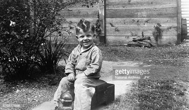 Two-year-old Lee Harvey Oswald