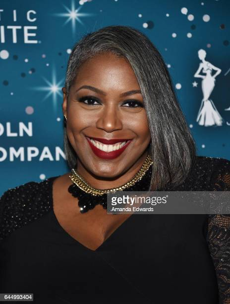 Ty Alexander arrives at the Essence 10th Annual Black Women in Hollywood Awards Gala at the Beverly Wilshire Four Seasons Hotel on February 23, 2017...