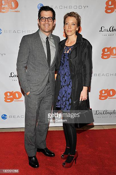 Ty and Holly Burrell attend the 4th Annual Go Go Gala for honoree Chris Mburu at The London on November 10 2011 in Los Angeles California