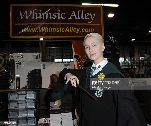 Ty as Draco Malfoy from Harry Potter attends Day 3 of Wizard World Chicago Comic Con held at Donald E Stephens Convention Center on August 11 2013 in...