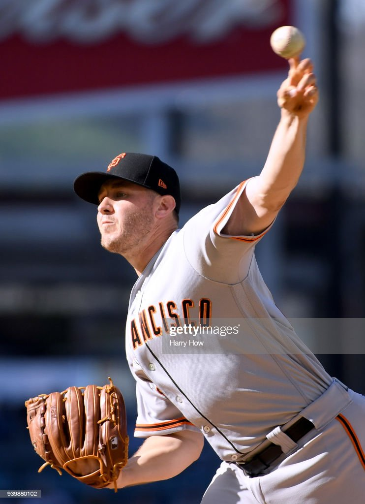 San Franciso Giants  v Los Angeles Dodgers
