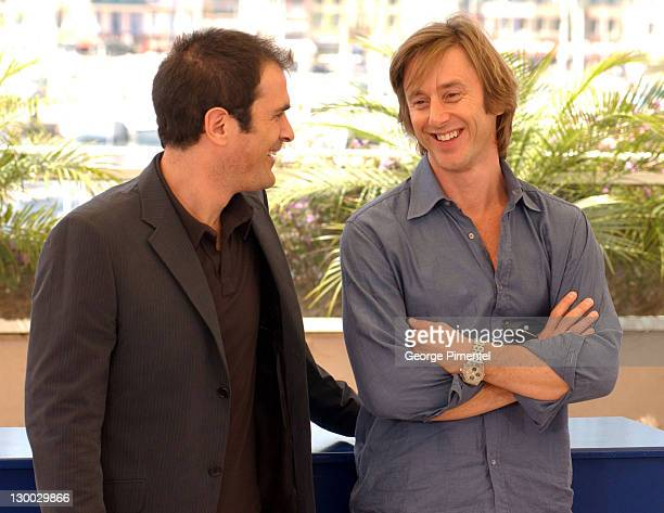 """Ty Burrell and Jake Weber during 2004 Cannes Film Festival - """"Dawn Of The Dead"""" - Photocall at Palais Du Festival in Cannes, France."""
