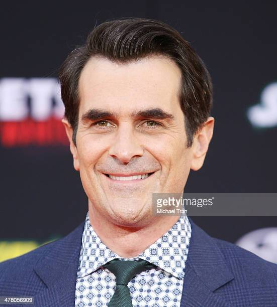 """Ty Burrell arrives at the Los Angeles premiere of """"Muppets Most Wanted"""" held at the El Capitan Theatre on March 11, 2014 in Hollywood, California."""