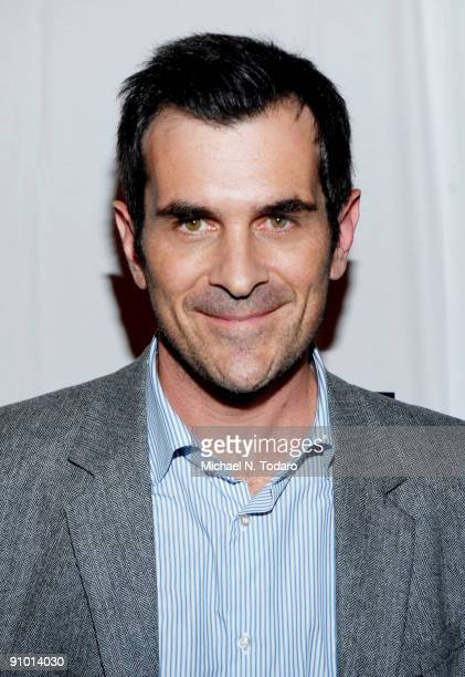 Ty Burrell attends the 2009 New York Television Festival screenings of Modern Family and Cougar Town at TheTimesCenter on September 21 2009 in New...