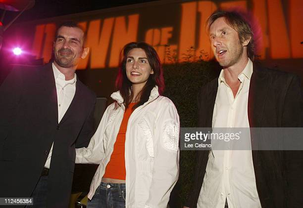 Ty Burrell Inna Korobkina and Jake Weber during Dawn of the Dead Los Angeles Premiere AfterParty at Cineplex Beverly Center Theatres in Los Angeles...